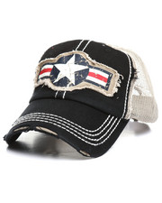 Dad Hats - Military Roundel Star Ball Cap-2367733