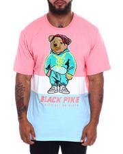 Men - S/S Jersey Tee Shirts W/Patch (B&T)-2370863