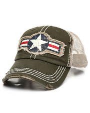 Dad Hats - Military Roundel Star Ball Cap-2367732
