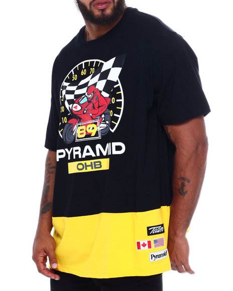 Black Pyramid - 89 Race Speedometer Shirt (B&T)
