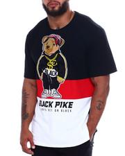 Big & Tall - S/S Jersey Tee Shirts W/Patch (B&T)-2370877