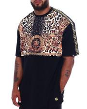 Big & Tall - Makobi Leopard Print S/S Tee (B&T)-2370782