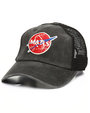 Dad Hats - Raglan Bones NASA Strapback Hat-2367721