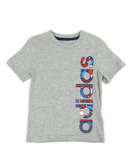 Adidas - USA Logo Tee (2T-7X)