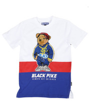 Sizes 8-20 - Big Kids - Jersey Tee W/ Patch (8-20)-2371141