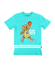 Sizes 8-20 - Big Kids - Jersey Tee W/ Patch (8-20)-2371105