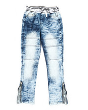 Sizes 8-20 - Big Kids - Pull On Denim Jeans (8-20)-2371192