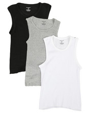 Sizes 8-20 - Big Kids - 3 Pack A-Shirts (4-16)-2370140