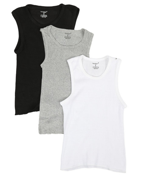 Arcade Styles - 3 Pack A-Shirts (4-16)