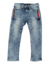 Holiday Shop - Stretch Skinny Moto Denim Jeans (4-7)-2371005