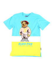 Sizes 8-20 - Big Kids - Jersey Tee W/ Patch (8-20)-2371110
