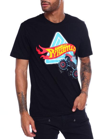 Black Pyramid - MONSTER WHEELS TEE