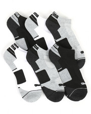 DRJ SOCK SHOP - 6 Pack Low Cut Socks-2371133