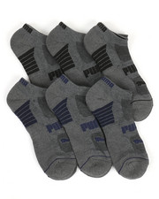 DRJ SOCK SHOP - 6 Pack Low Cut Socks-2371131