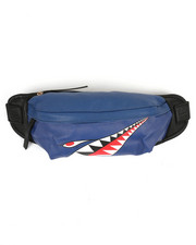 Bum Bags - Shark Mouth Waist Bag-2370881