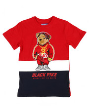 Sizes 8-20 - Big Kids - Jersey Tee W/ Patch (8-20)-2371125
