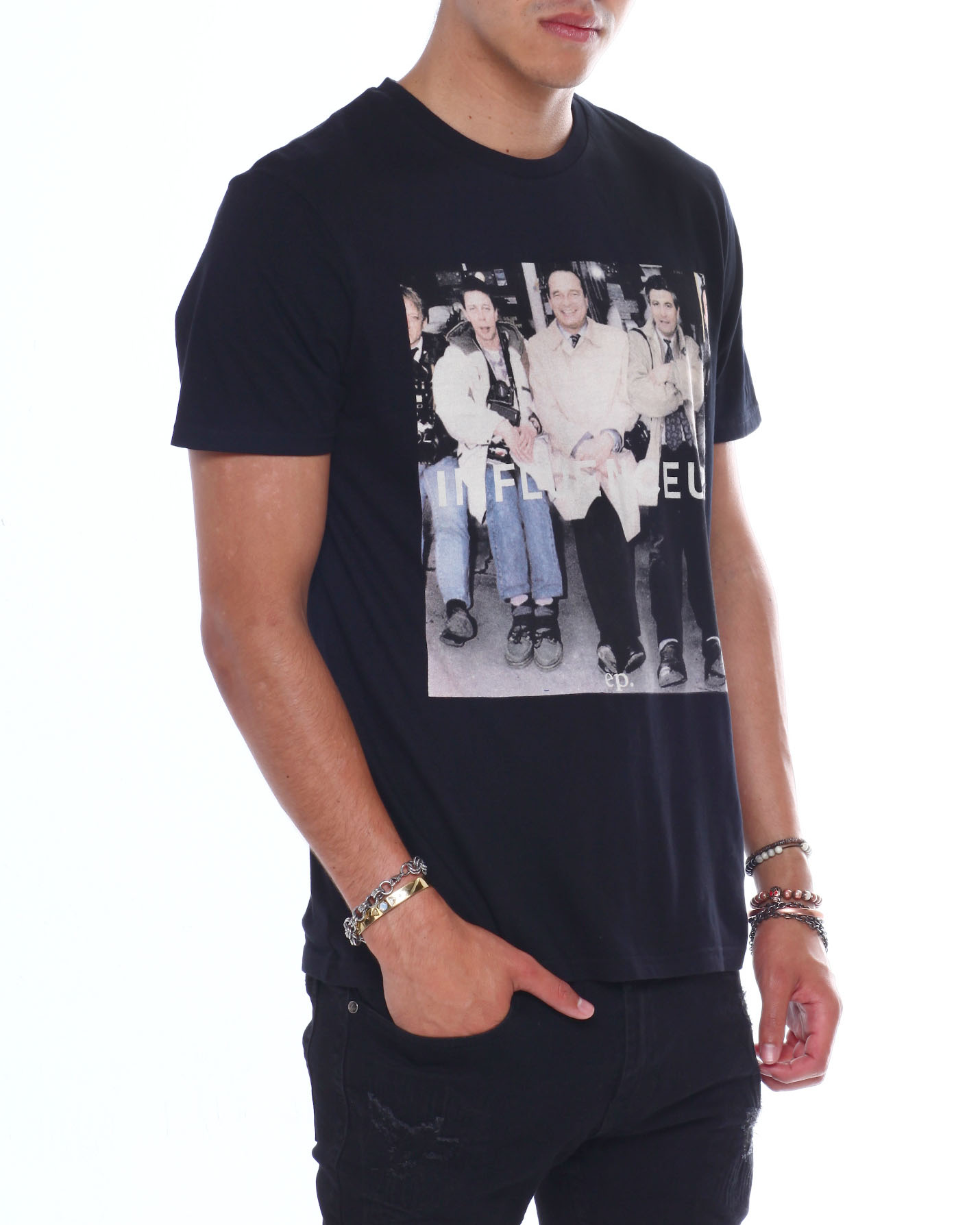Buy MORISE INFLUENCER TEE Men's Shirts from Eleven Paris