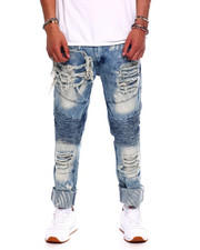Buyers Picks - BLEACHED OUT DISTRESSED MOTO JEAN-2371521