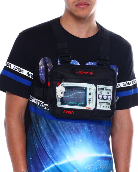 deKryptic - NASA MISSION CONTROL CHEST BAG