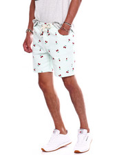 Buyers Picks - SKULL CHERRY DRAWSTRING SHORT-2371552