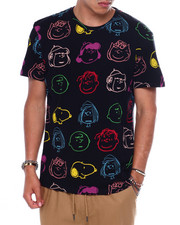 Shirts - PEANUTS ALL OVER HEADS TEE-2371400