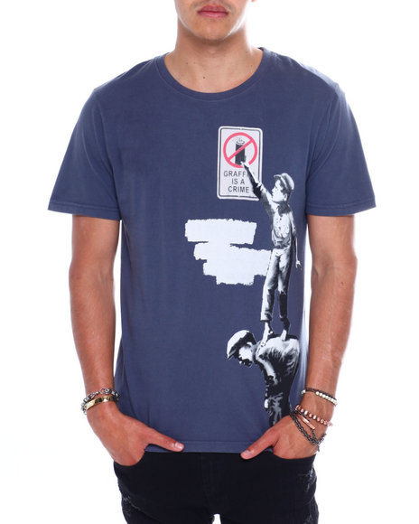 Eleven Paris - GRAFFITI TEE BANKSY