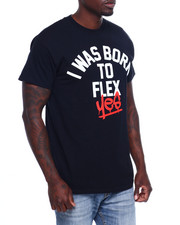 Shirts - born to flex yes tee-2371790