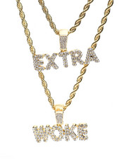 Accessories - Extra Woke Double Rope Chain-2371678