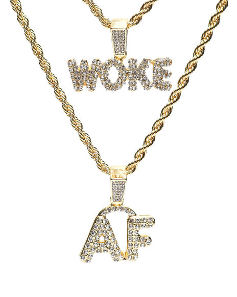 Buyers Picks - Woke AF Double Rope Chain