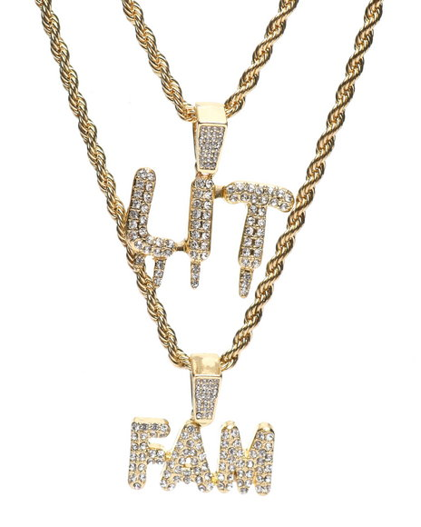 Buyers Picks - Lit Fam Double Rope Chain