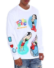 Diamond Supply Co - DMND X ASTRO BOY COSMIC RANGER L/S TEE-2372096