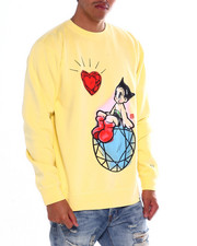 Men - DMND X ASTRO BOY ASTRO HEART CREWNECK-2372052