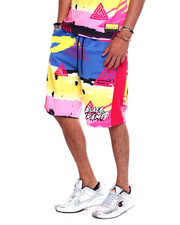 Men - ABSTRACT ROCKER SHORT-2372035