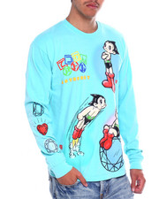 Diamond Supply Co - DMND X ASTRO BOY COSMIC RANGER L/S TEE-2372086
