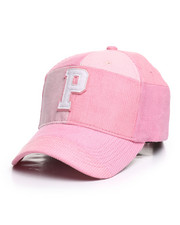 Dad Hats - Corduroy P Hat-2372142