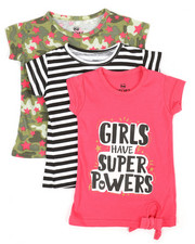 Sizes 2T-4T - Toddler - 3 PK Short Sleeve Tees (2T-4T)-2372180