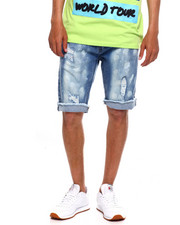 Buyers Picks - BLEACH SPLATTER DENIM SHORT-2372480