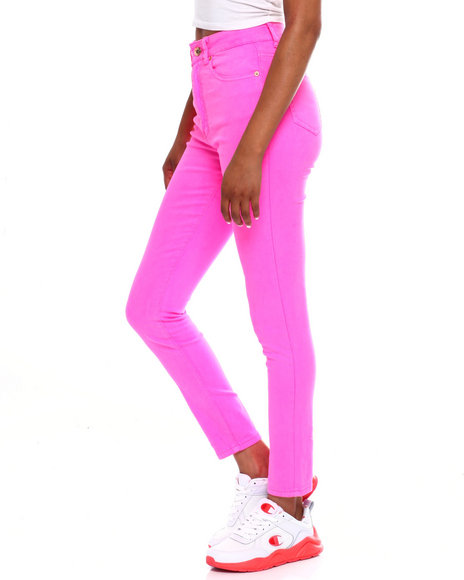 Fashion Lab - High Waist 5 Pocket Skinny Pant
