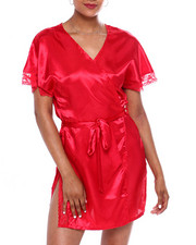 DRJ Lingerie Shoppe - SATIN ROBE-2372275