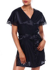 DRJ Lingerie Shoppe - SATIN ROBE-2372278