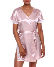 DRJ Lingerie Shoppe - SATIN ROBE-2372272