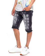 Buyers Picks - BLEACH SPLATTER DENIM SHORT-2372458