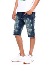 Buyers Picks - BLEACH SPLATTER DENIM SHORT-2372507