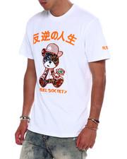 Men - Velour Gangster Tiger Tee w Rhinestones-2373171