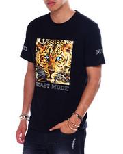 T-Shirts - Beast Mode Rhinestone Tee-2373206