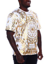 SWITCH - All Over Foil Print S/S Tee (B&T)-2373516