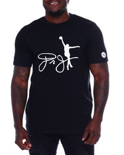 Buyers Picks - Dr. J Cotton Tee W/ Raised HD Rubber Detail (B&T)-2371101