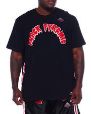 Black Pyramid - Arched Drip B-Ball Shirt (B&T)-2371916