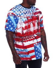 Akademiks - Americana Bklyn Bridge S/S Tee (B&T)-2372861