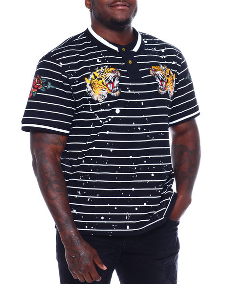 SWITCH - Printed Polo W/Patches (B&T)